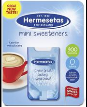Suhkruasendaja Hermesetas 300 tk.