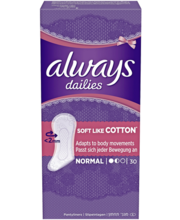Always Normal Soft pesukaitse 30 tk