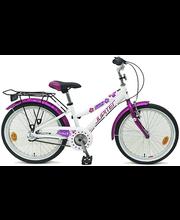 """Laste jalgratas Sweetie 20"""", 3 käiku, valge"""