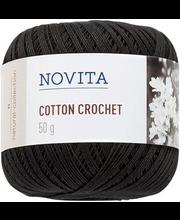 Lõng Cotton Crochet 50 g 099 nõgi