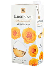 Baron Rosen Vino Blanco Medium-Sweet 1L
