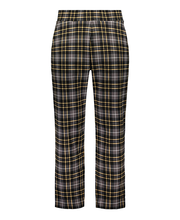 Naiste püksid tartaani must m