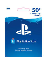Playstation Network Live kaart 50 eur