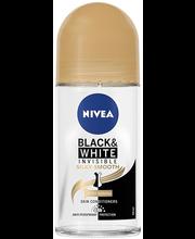 Rulldeodorant Black & White Invisible Silky 50 ml