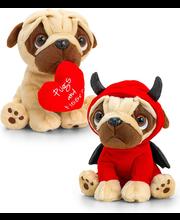 Pehme mänguasi Pugsley Valentines, 14 cm