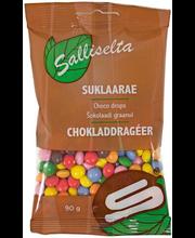 Sallinen šokolaadidražee, 90g