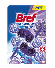Bref Purple Aktiv Lavender WC-värskendaja Duo-Pack 2 x 50 g