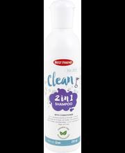 Šampoon lemmikloomadele 2in1 250 ml