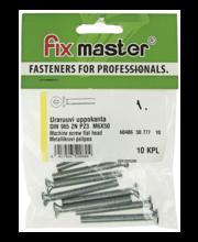 Fixmaster metallikruvi, peitpea, DIN965, ZN PZ3, M6 x 50 mm, ...