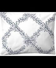 Padjapüür Finlayson Pergola, 50 × 60 cm, tumesinine/valge