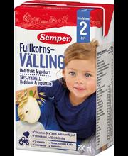 Semper puuvilja-jogurti täisterapuder 250 ml, alates 2-eluaas...