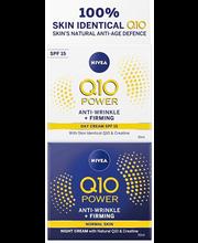 Päeva+öökreem Q10 POWER Anti-Wrinkle +Firming 2x50 ml