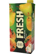 Aura Fresh pirni-õuna mahlajook, 2l