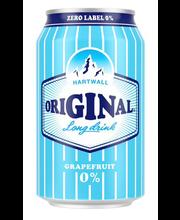 Hartwall original long drink alk.vaba 330ml