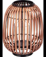 Bambuslatern 24 cm, roosa