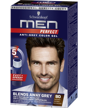 Juuksevärv Men Perfect 80 Natural Brown Black