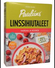 Paulúns vaarika-, kookose- ja läätsehelbed, 320 g