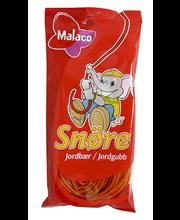 Malaco maasikamaitseline nöör 94 g