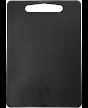 Lõikelaud 35x25x0,7 cm, must plast