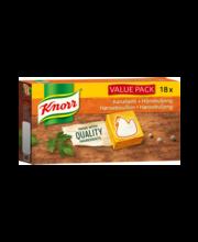 Knorr kanapuljongi kuubikud, 18 x 10 g