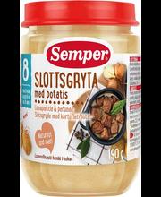 Semper kartuli-lihapüree 190 g, alates 8-elukuust
