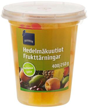 Puuviljakuubikud omas mahlas 400/250 g