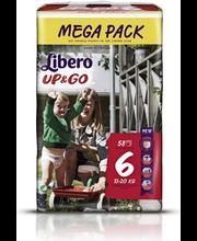 Libero püksmähkmed Up&Go 6 Mega Pack, 13-20 kg, 58 tk