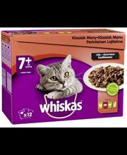 Täissööt kassidele, lihavalik eakatele kassidele 12 x 100 g