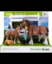 Mängukomplekt hobused