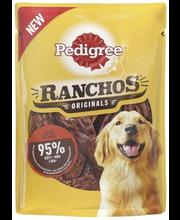 Pedigree Ranchos täiendsööt koertele härjalihaga, 70 g