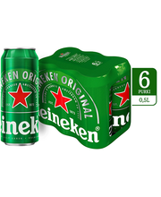 Heineken õlu 5% 6-pakk