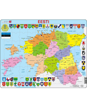 Raampuzzle Eeesti kaart