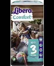 Libero teipmähkmed Comfort 3, 5-9 kg, 62 tk