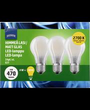 LED-lamp 4W E27 700K 470LM, 3 tk