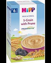 5-vilja piimapuder ploomi ja prebiootikumidega 250 g, alates ...