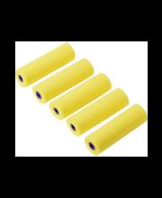Lux värvirullid, 10 cm, 5 tk