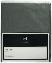 Kardin Hanna 140 x 250 cm, hall, 100% polüester