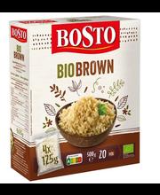 Bosto Bio Pruun riis 4x125 g