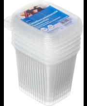 Külmutuskarbid 1l 5 tk