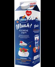 Muah vaarika-mascarpone koorene jogurt, 1 kg