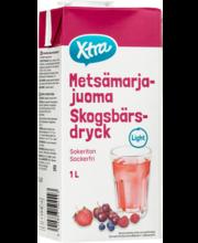 X-tra metsamarjajook suhkruvaba 1L