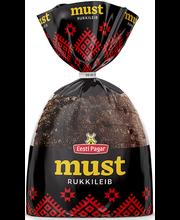 Must rukkileib, 390 g