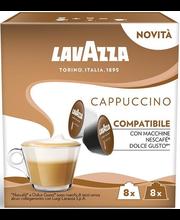 Lavazza Cappuccino kohvikapslid 8+8tk, 200 g