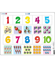 Õppepuzzle 1-10