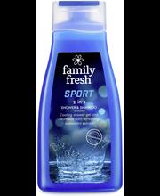 Dushigeel-shampoon Sport 2in1 500 ml