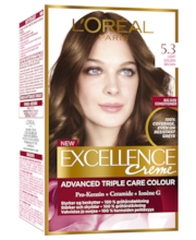 Juuksevärv excellence Creame n 5.3