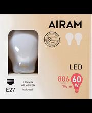 LED-lamp 7W E27 2700K 806LM, 2 tk