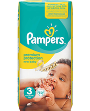 Pampers teipmähkmed Premium Protection New Baby 3, 6-10 kg, 5...