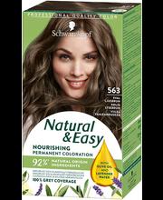 Juuksevärv Natural & Easy 563 külm helepruun