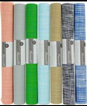 Lauamatt chambray, 70% PVC - 30% polüester